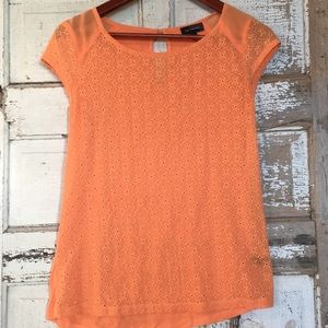 Limited summer eyelet top